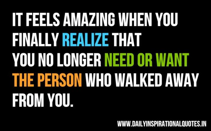 It feels amazing when you finally.. ( Happiness Quotes )