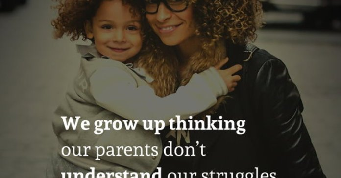 We grow up thinking our parents don't understand our struggles, but the truth is they made sure we never felt theirs.