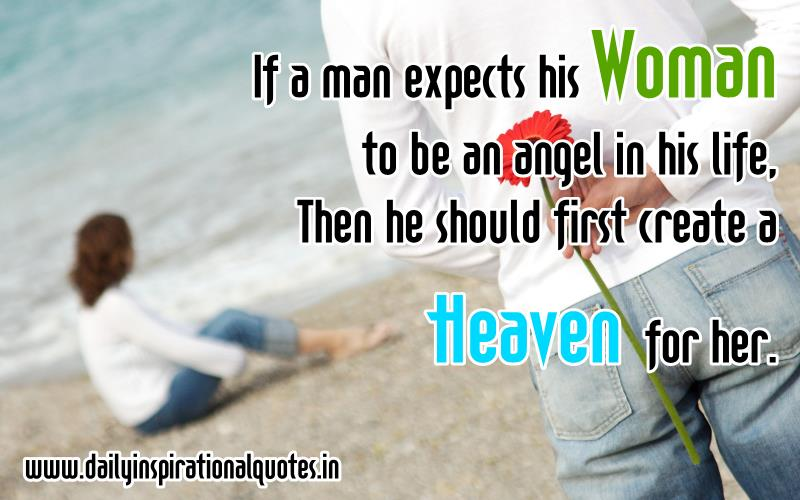 If A Man Expects His Woman To.. ( Relationship Quotes