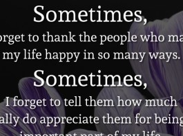 Sometimes, I forget to thank the people who make my life happy in so many ways. Sometimes, I forget to tell them how much I really do appreciate them for being an important part of my life. So thank you, all of you, just for being here for me.