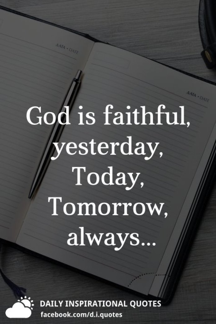 Religious Quotes On Faith Faithful God Quotes Tumblr