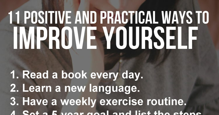 improve yourself every day