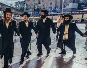 Haredi women dancing (example of the AI tech)