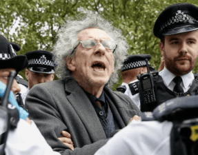 Piers Corbyn arrested for being a nutter