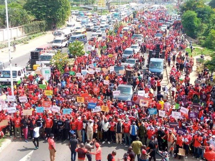 PHOTOS: NDC seizes Accra with massive demo against Akufo-Addo 2