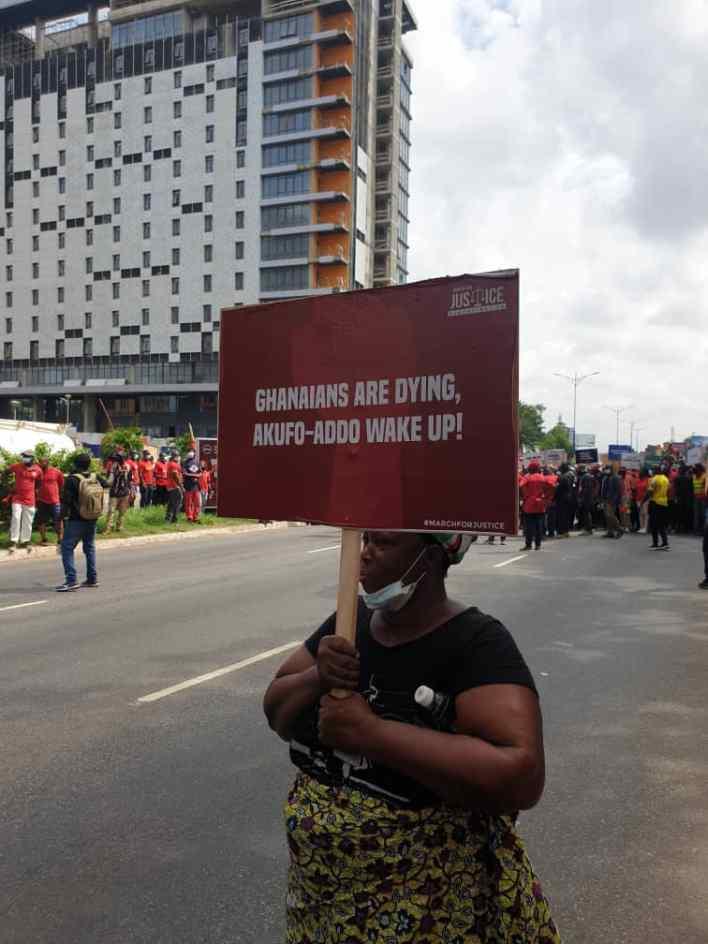PHOTOS: NDC seizes Accra with massive demo against Akufo-Addo 6