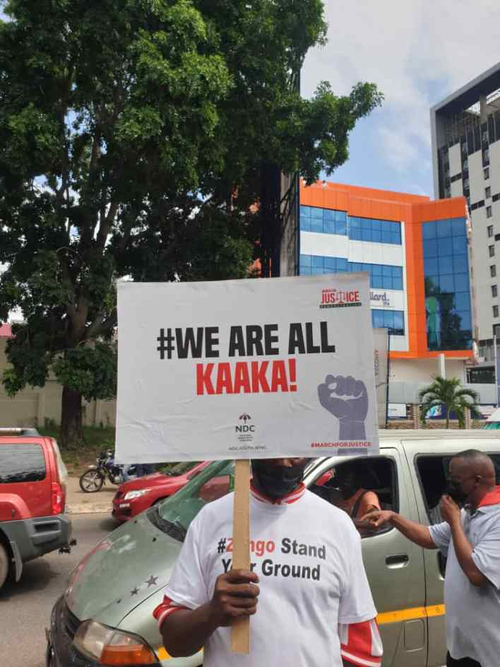 PHOTOS: NDC seizes Accra with massive demo against Akufo-Addo 9