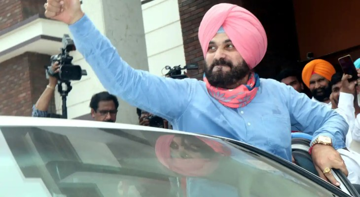 Navjot Singh Sidhu appointed as Punjab Congress president with immediate effect