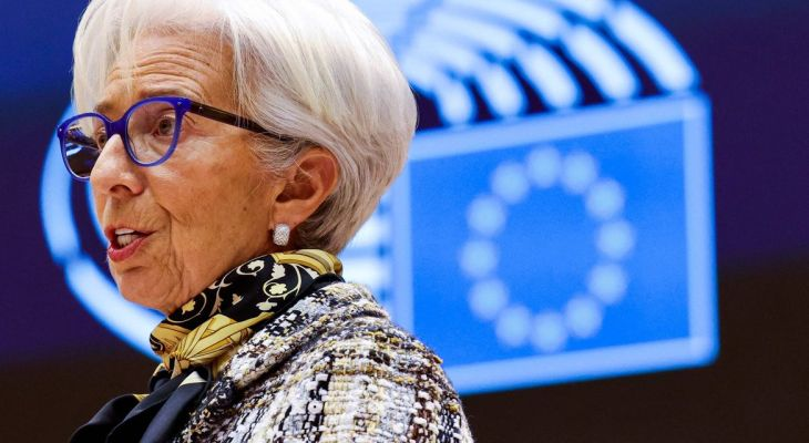 'The lady isn't tapering,' says Lagarde as ECB slows asset purchases