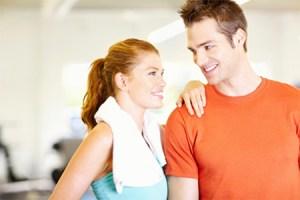 Guy and Girl Gym