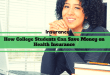 How College Students Can Save Money on Health Insurance