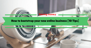 How to bootstrap your new online business