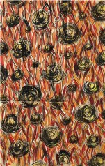 Roberto Crippa Progetto grafico per tessuto per la X Triennale di Milano, 1954 circa tempera su carta Bologna, Fondazione Massimo e Sonia Cirulli Crediti Fotografici: Archivio Massimo e Sonia Cirulli