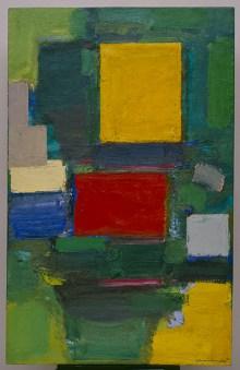 Il cancello (The Gate). Hans Hofmann (Weissenberg 1880-New York 1966), 1959-1960, olio su tela, cm 190,5 x 123,2, New York, Solomon R. Guggenheim Museum, 62.1620 Foto di David Heald © Hans Hofmann, by SIAE 2016