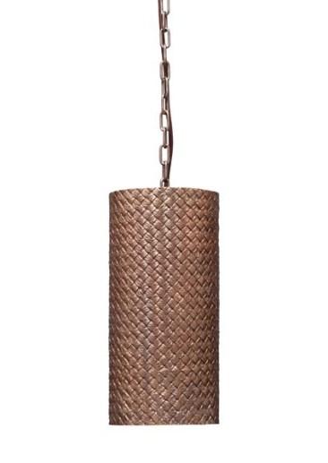 Natural Bronze OVM Hanging Lamp
