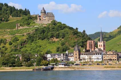 Bacharach am Rhein (Sommer 2014)