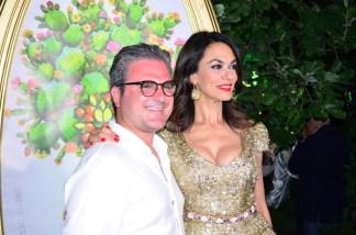 Maria Grazia Cucinotta e Andrea Riccio2