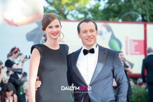Stefano Accorsi (R) and Bianca Vitali