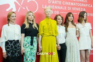 Tilda Swinton, Dakota Johnson, Mia Goth, Fabrizia Sacchi, Chloe Grace Moretz, Jessica Harper