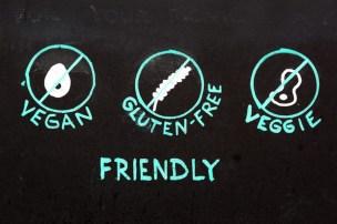 gluten free vegan friendly