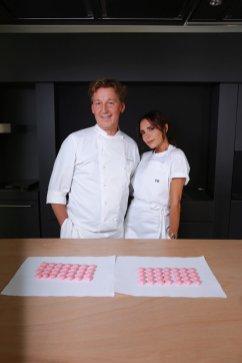 Pierre Marcolini e Victoria Beckham
