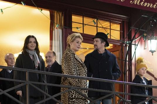 LA VÉRITÉ - Juliette Binoche, Catherine Deneuve and Ethan Hawke (Credits - L.Champoussin - 3B-Bunbuku-MiMovies-FR3)