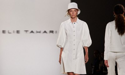 NYFW SS 2020 -Elie Tahari Contrasting Urban With Artistic