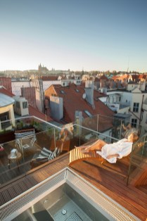 The M Spa Roof View