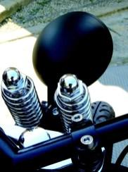Detalle faro H-D Night Fuel by Biker's House