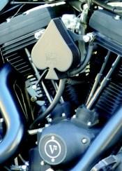 Detalle AS de picas H-D Night Fuel by Biker's House