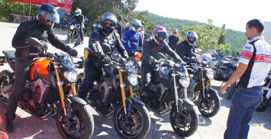 Yamaha MT 09 test