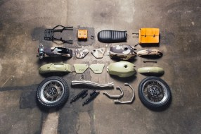 Garage Moto Guzzi Custom Legend V 7 II