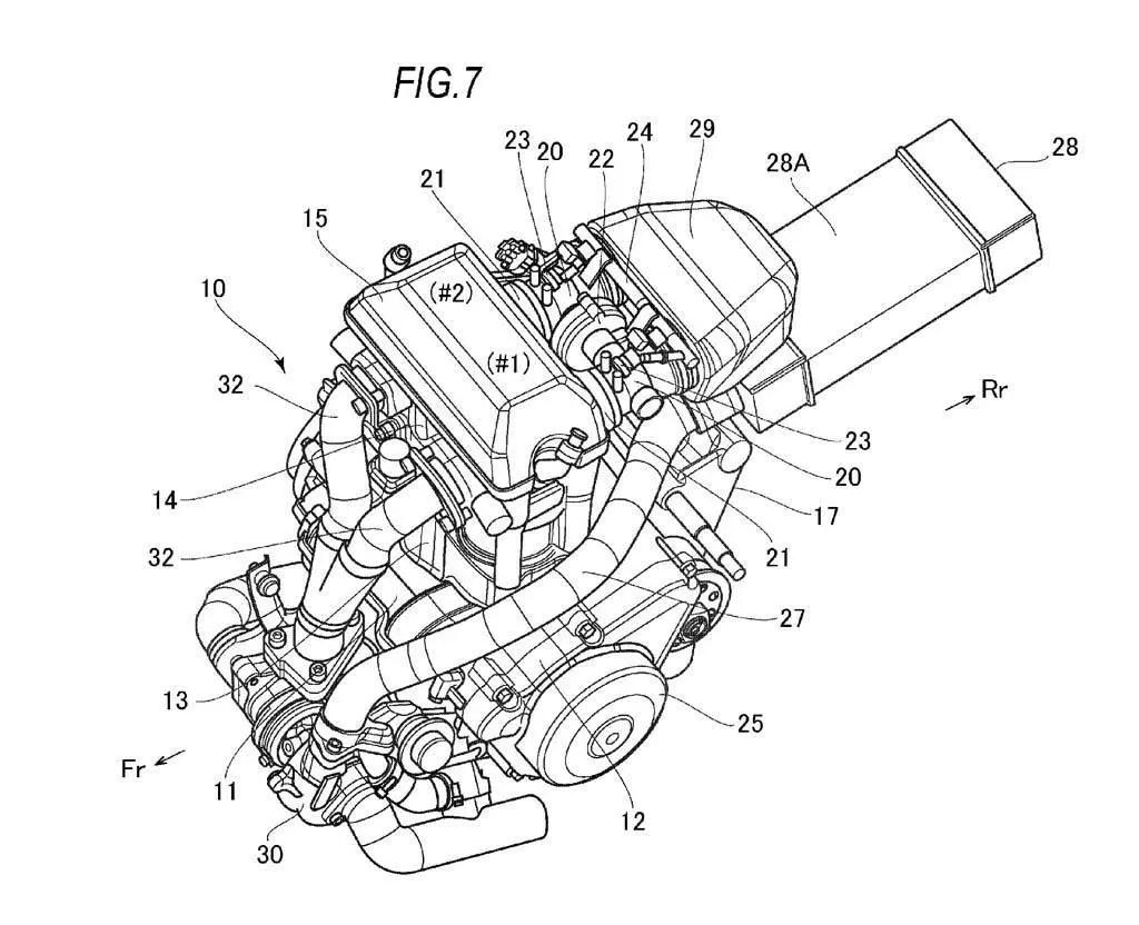 Suzuki Registra Patente De Mecanica Con Turbo E Intercooler
