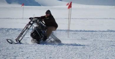 Chopper Snow Bike