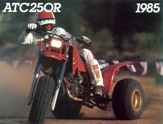 Honda 3 wheeler 1986