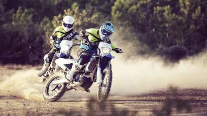 Yamaha WR 450 F - En competencia