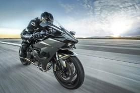 Kawasaki Ninja H2R en acción