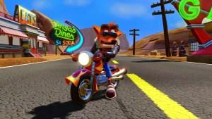 La moto : inédite dans Crash Bandicoot 3