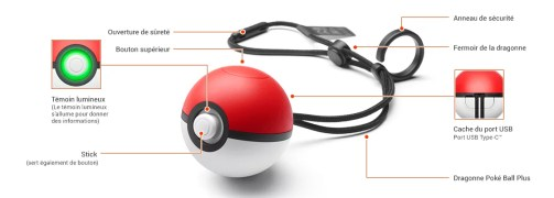 Poké Ball Plus - Schéma