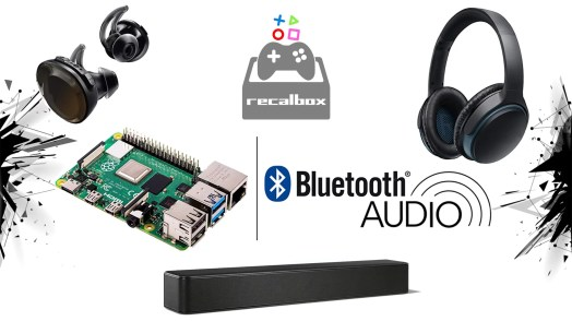 Recalbox-Bluetooth