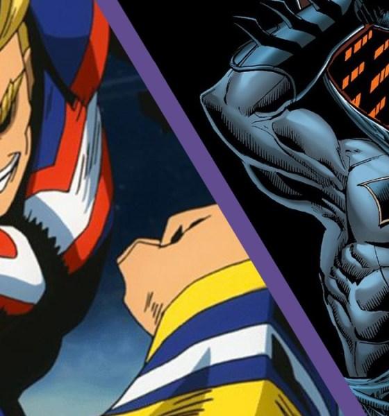 all-might-vs-batman