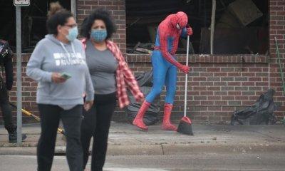 batman-spiderman-black-lives-matter-george-floyd