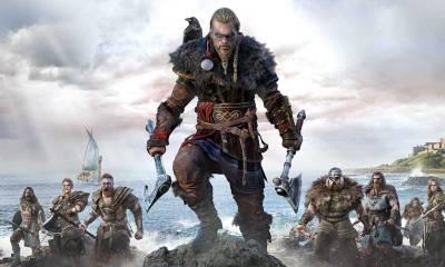 Assassins Creed Valhalla cover playstation 5