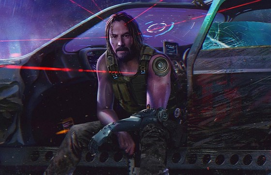 cyberpunk 2077 keanu reeves trailer