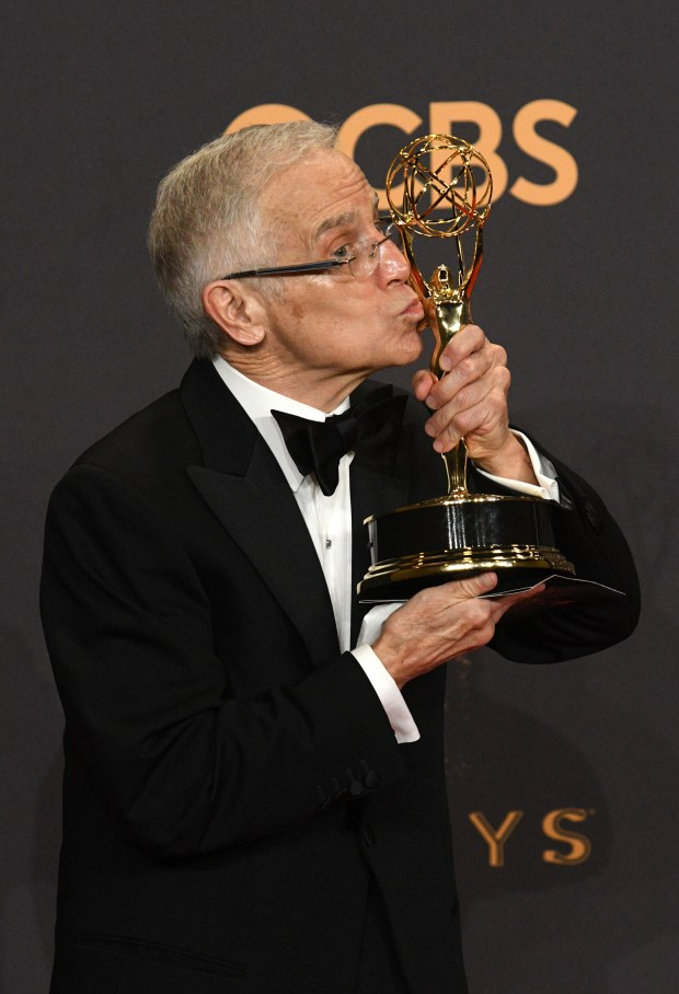 "Don Roy King won the Emmy award for Outstanding Directing for a Variety Series for an episode of ""Saturday Night Live"" at the 69th Emmy Awards on Sunday, Sept. 17, 2017 at the Microsoft Theater in Los Angeles, California. (Photo by Michael Owen Baker / SCNG)"