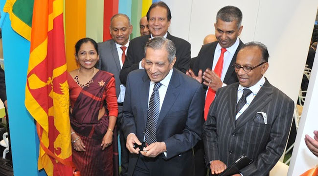 Sri Lanka Tourism officials at the event.