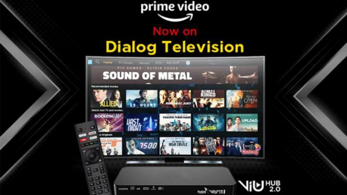 Dialog Television Presents Amazon Prime Video for the First Time in Sri  Lanka | Daily News