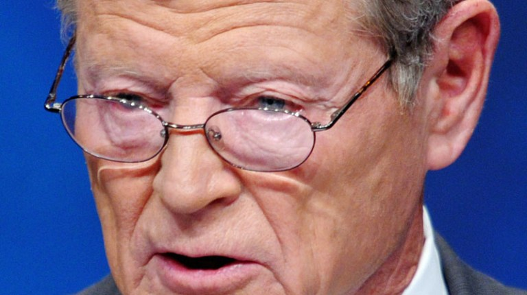 """Senator Inhofe described Morsi as an """"enemy"""" during a debate about US military aid to Egypt (AFP Photo / Mandel Ngan)"""
