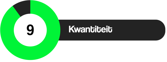 Review Kwantiteit 9