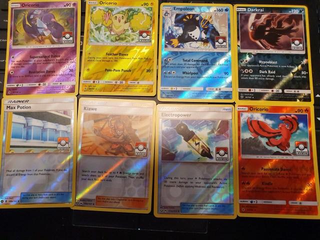 Pokémon League cards